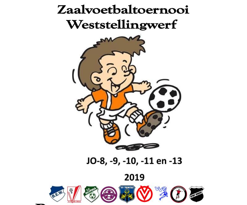 Het programma zaalvoetbal 2019