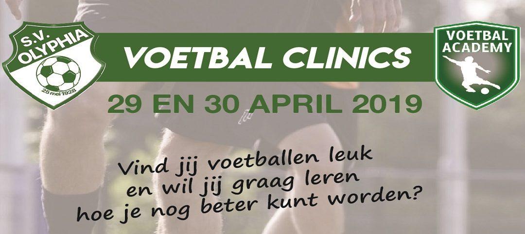 Inschrijven voetbal clinics