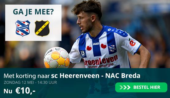 Met korting naar SC Heerenveen
